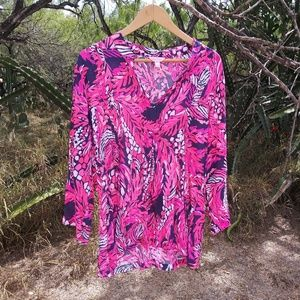 Lilly Pulitzer Tops - Pink blouse